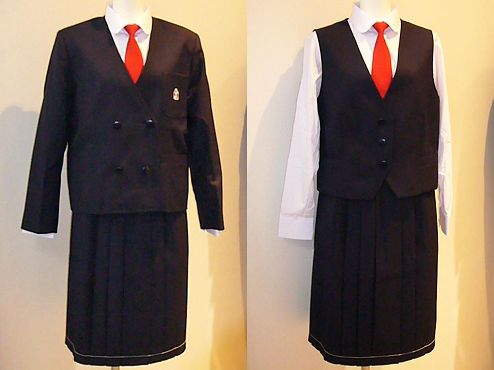 館山市立第三中学校 女子制服