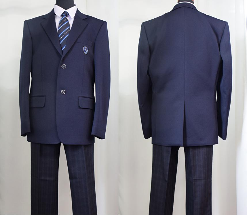 館山市立館山中学校 男子制服